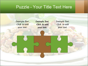 Risotto with chicken and vegetables PowerPoint Templates - Slide 42