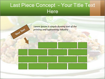 Risotto with chicken and vegetables PowerPoint Templates - Slide 46