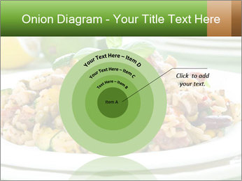 Risotto with chicken and vegetables PowerPoint Templates - Slide 61