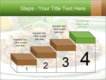 Risotto with chicken and vegetables PowerPoint Templates - Slide 64