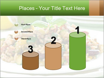 Risotto with chicken and vegetables PowerPoint Templates - Slide 65