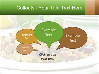 Risotto with chicken and vegetables PowerPoint Templates - Slide 73