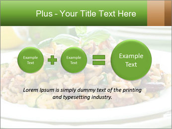 Risotto with chicken and vegetables PowerPoint Templates - Slide 75