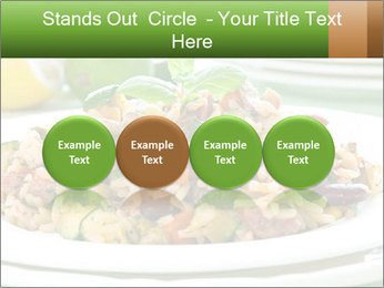 Risotto with chicken and vegetables PowerPoint Templates - Slide 76