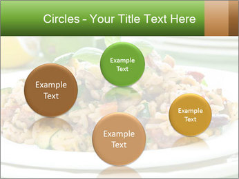Risotto with chicken and vegetables PowerPoint Templates - Slide 77
