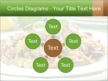 Risotto with chicken and vegetables PowerPoint Templates - Slide 78