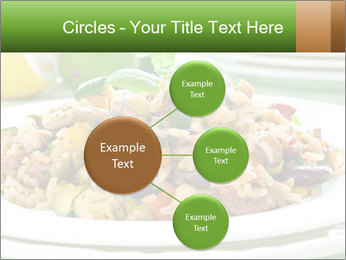 Risotto with chicken and vegetables PowerPoint Templates - Slide 79