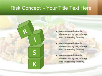 Risotto with chicken and vegetables PowerPoint Templates - Slide 81