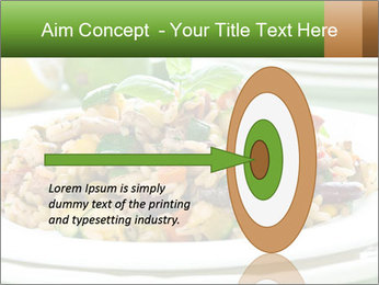 Risotto with chicken and vegetables PowerPoint Templates - Slide 83