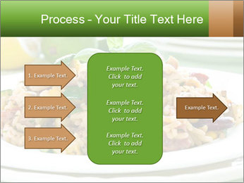 Risotto with chicken and vegetables PowerPoint Templates - Slide 85