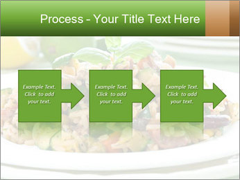 Risotto with chicken and vegetables PowerPoint Templates - Slide 88