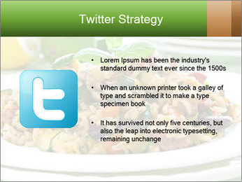 Risotto with chicken and vegetables PowerPoint Templates - Slide 9
