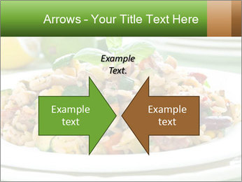 Risotto with chicken and vegetables PowerPoint Templates - Slide 90