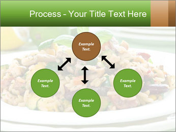 Risotto with chicken and vegetables PowerPoint Templates - Slide 91
