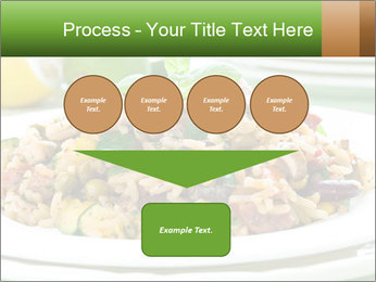 Risotto with chicken and vegetables PowerPoint Templates - Slide 93
