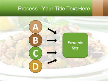 Risotto with chicken and vegetables PowerPoint Templates - Slide 94