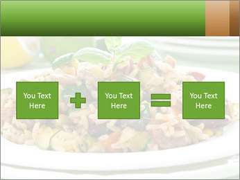Risotto with chicken and vegetables PowerPoint Templates - Slide 95