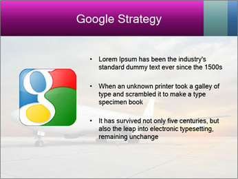 Commercial airplane PowerPoint Templates - Slide 10