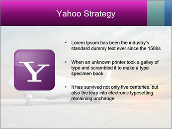 Commercial airplane PowerPoint Template - Slide 11