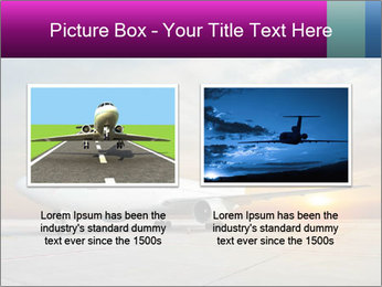 Commercial airplane PowerPoint Template - Slide 18