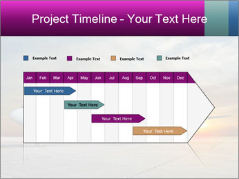 Commercial airplane PowerPoint Template - Slide 25