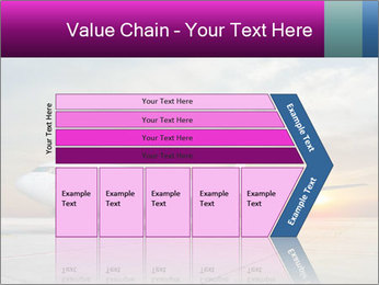 Commercial airplane PowerPoint Templates - Slide 27