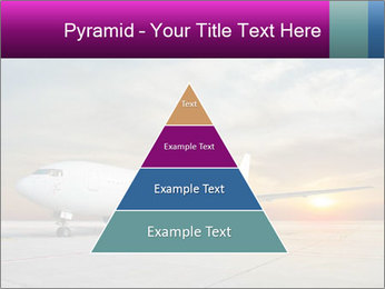 Commercial airplane PowerPoint Template - Slide 30