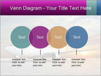 Commercial airplane PowerPoint Template - Slide 32