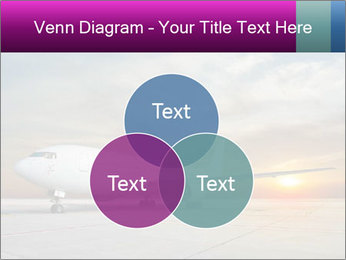 Commercial airplane PowerPoint Template - Slide 33