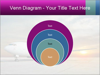 Commercial airplane PowerPoint Template - Slide 34