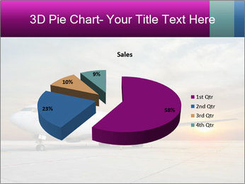 Commercial airplane PowerPoint Templates - Slide 35