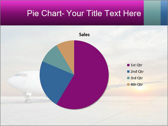Commercial airplane PowerPoint Templates - Slide 36