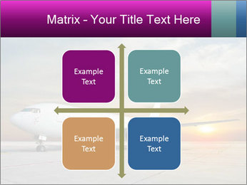 Commercial airplane PowerPoint Template - Slide 37