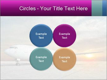 Commercial airplane PowerPoint Template - Slide 38