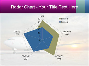 Commercial airplane PowerPoint Template - Slide 51