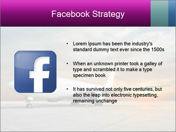 Commercial airplane PowerPoint Templates - Slide 6