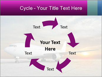 Commercial airplane PowerPoint Templates - Slide 62