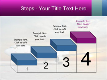 Commercial airplane PowerPoint Template - Slide 64