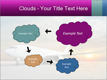 Commercial airplane PowerPoint Templates - Slide 72