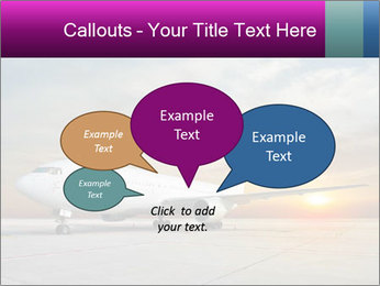 Commercial airplane PowerPoint Templates - Slide 73