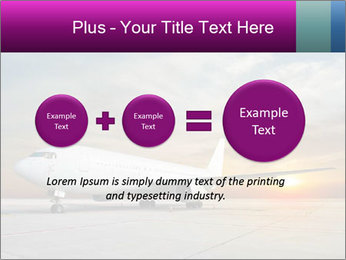 Commercial airplane PowerPoint Template - Slide 75