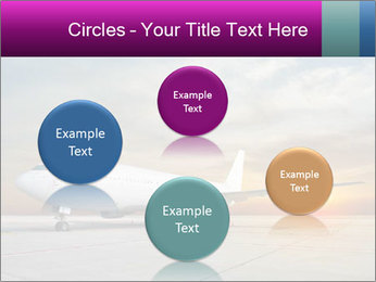 Commercial airplane PowerPoint Template - Slide 77