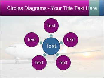 Commercial airplane PowerPoint Templates - Slide 78
