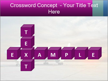 Commercial airplane PowerPoint Template - Slide 82