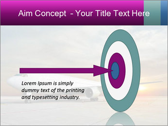 Commercial airplane PowerPoint Template - Slide 83