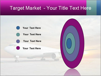 Commercial airplane PowerPoint Template - Slide 84