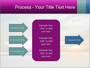 Commercial airplane PowerPoint Template - Slide 85