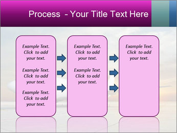 Commercial airplane PowerPoint Templates - Slide 86