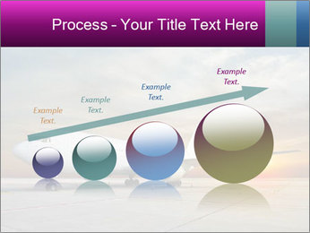 Commercial airplane PowerPoint Template - Slide 87