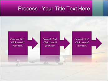Commercial airplane PowerPoint Template - Slide 88